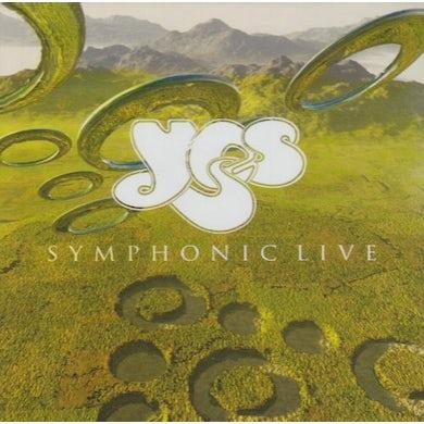 Yes SYMPHONIC LIVE Vinyl Record