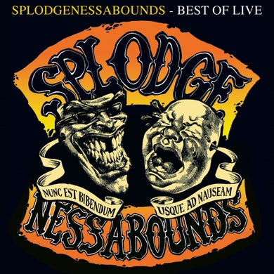 Splodgenessabounds BEST OF LIVE Vinyl Record