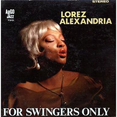 Lorez Alexandria FOR SWINGERS ONLY Vinyl Record