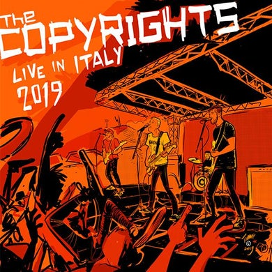 The Copyrights LIVE IN ITALY 2019 Vinyl Record