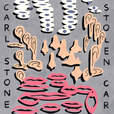 Carl Stone STOLEN CAR Vinyl Record
