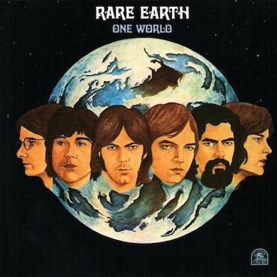 Rare Earth ONE WORLD (RED TRANSLUCENT VINYL) Vinyl Record