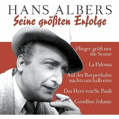 Hans Albers SEINE GROBTEN ERFOLGE Vinyl Record