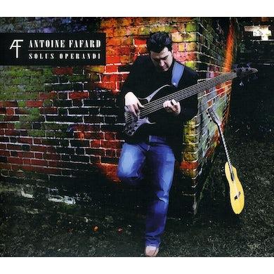 Antoine Fafard SOLUS OPERANDI CD