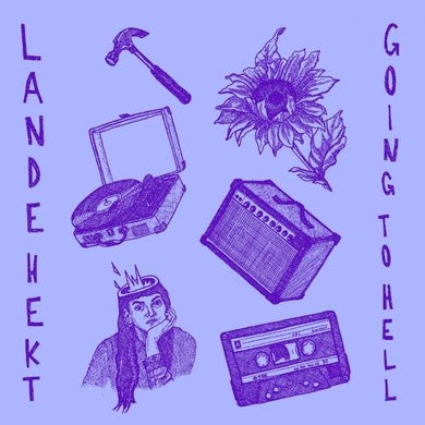 Lande Hekt GOING TO HELL Vinyl Record