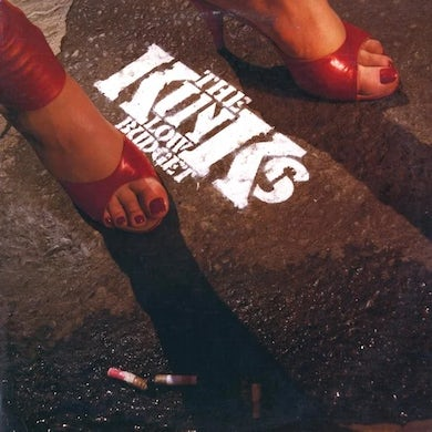 The Kinks LOW BUDGET Vinyl Record