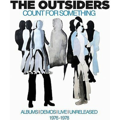 The Outsiders COUNT FOR SOMETHING: ALBUMS DEMOS LIVE CD