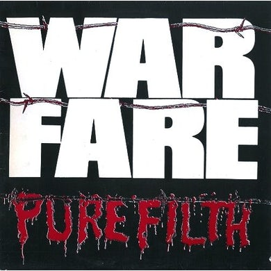 Warfare PURE FILTH Vinyl Record