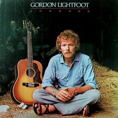 Gordon Lightfoot SUNDOWN Vinyl Record