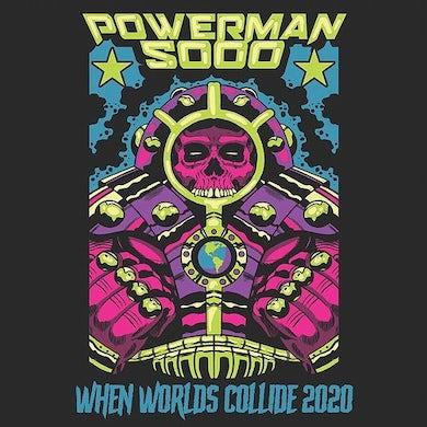 Powerman 5000 WHEN WORLDS COLLIDE Vinyl Record