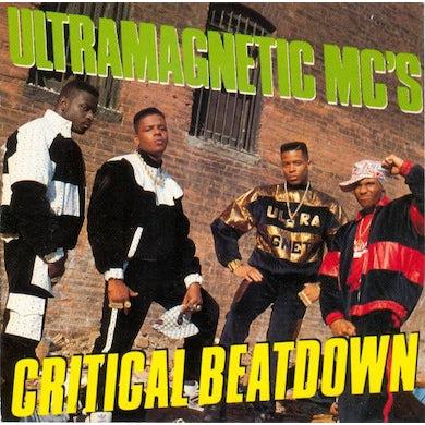 UltraMagnetic MC's CRITICAL BEATDOWN Vinyl Record