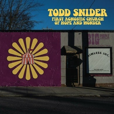 Todd Snider FIRST AGNOSTIC CHURCH OF HOPE AND WONDER Vinyl Record