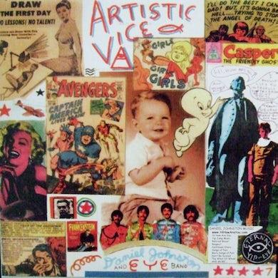 Daniel Johnston ARTISTIC VICE/1990 Vinyl Record