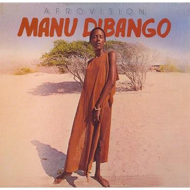 Manu Dibango AFROVISION Vinyl Record