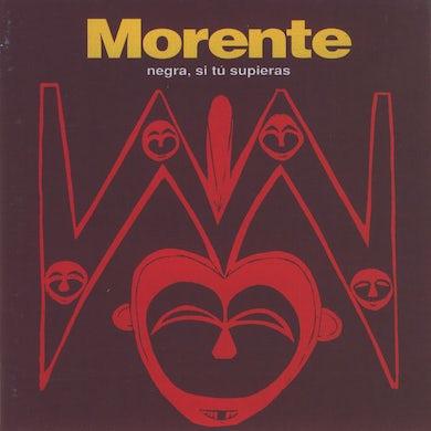 Enrique Morente NEGRA SI TU SUPIERAS Vinyl Record