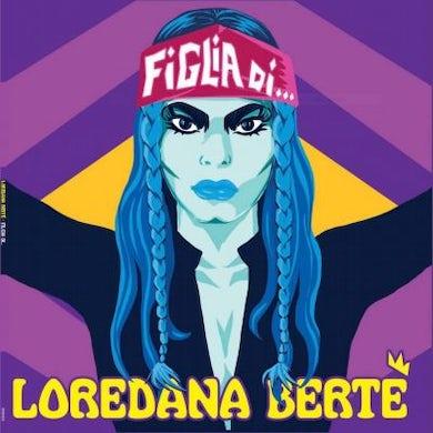 Loredana Berte FIGLIA DI Vinyl Record