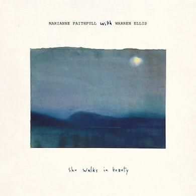 Marianne Faithfull SHE WALKS IN BEAUTY (WITH WARREN ELLIS) CD