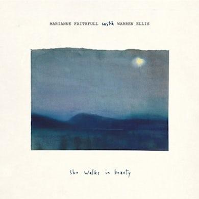 Marianne Faithfull SHE WALKS IN BEAUTY (WITH WARREN ELLIS) Vinyl Record