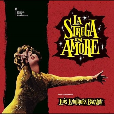 Luis Bacalov LA STREGA IN AMORE Vinyl Record