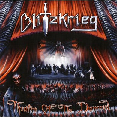 Blitzkrieg THEATRE OF THE DAMNED Vinyl Record