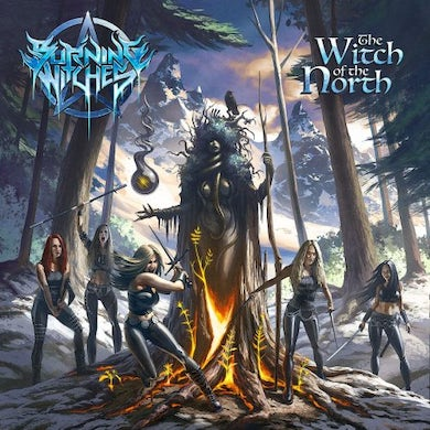 Burning Witches WITCH OF THE NORTH Vinyl Record