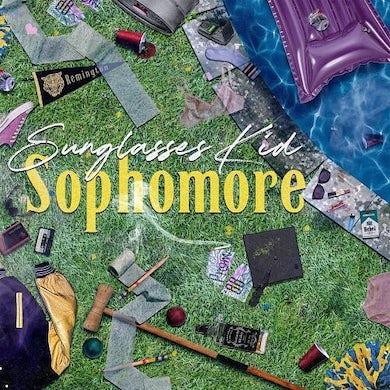 Sunglasses Kid SOPHOMORE Vinyl Record - Colored Vinyl, Pink Vinyl, UK Release