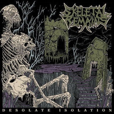 Skeletal Remains DESOLATE ISOLATION: 10TH ANNIVERSARY EDITION Vinyl Record