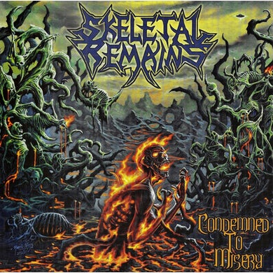 Skeletal Remains CONDEMNED TO MISERY Vinyl Record