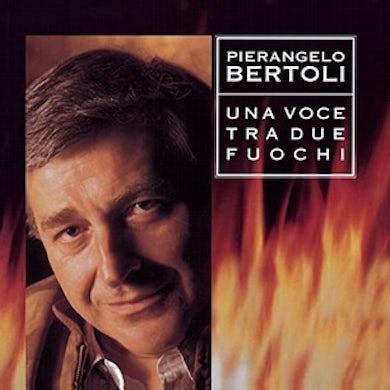Pierangelo Bertoli UNA VOCE TRA DUE FUOCHI Vinyl Record