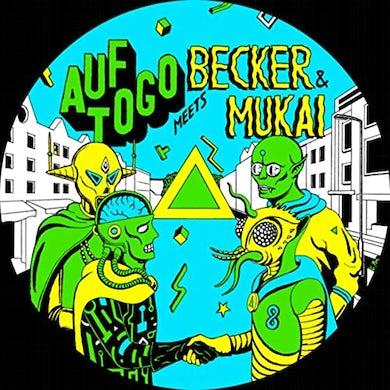 Auf Togo / Becker & Mukai AUF TOGO MEETS BECKER & MUKAI AGAIN Vinyl Record