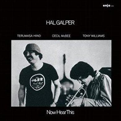 Hal Galper NOW HEAR THIS CD