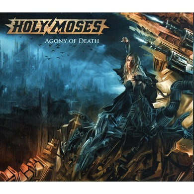 Holy Moses AGONY OF DEATH CD