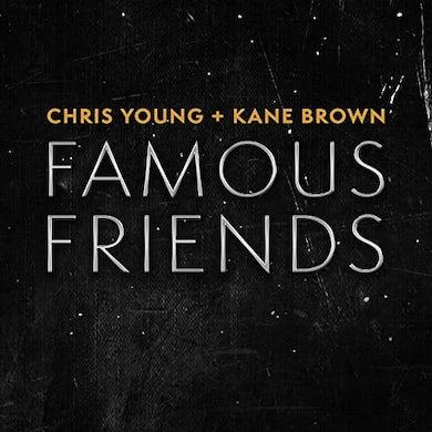Chris Young  FAMOUS FRIENDS Vinyl Record