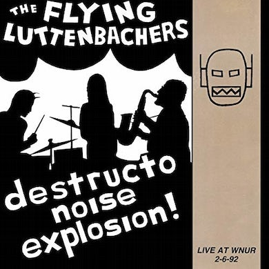 Flying Luttenbachers LIVE AT WNUR 2-6-92 Vinyl Record