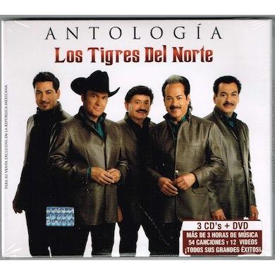 Los Tigres Del Norte   ANTOLOGIA CD
