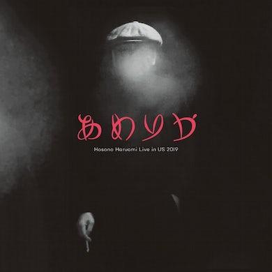 AMERICA: HOSONO HARUOMI LIVE IN US 2019 Vinyl Record