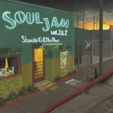 Shunske G & The Peas SOUL JAM VOL.1&2 Vinyl Record