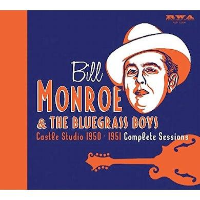 Bill Monroe CASTLE STUDIO 1950-51 CD