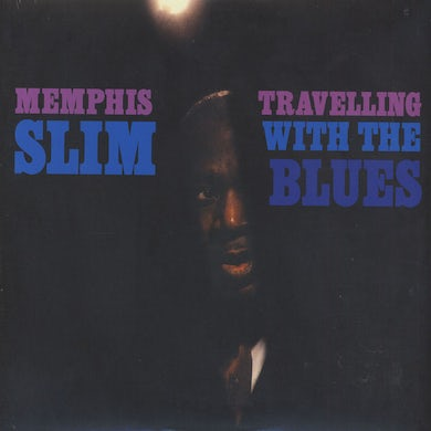Memphis Slim TRAVELLING WITH THE BLUES Vinyl Record