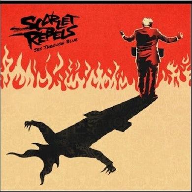 Scarlet Rebels SEE THROUGH BLUE Vinyl Record