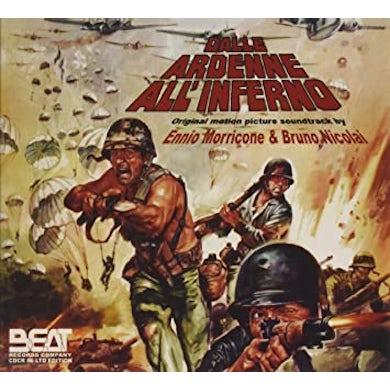 Ennio Morricone / Bruno Nicolai DALLE ARDENNE ALL INFERNO / Original Soundtrack CD