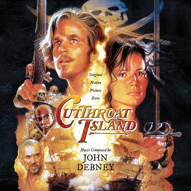 John Debney  CUTTHROAT ISLAND / Original Soundtrack CD