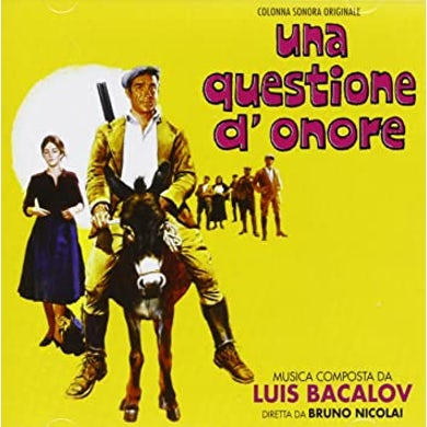 Luis Bacalov UNA QUESTIONE D'ONORE / Original Soundtrack CD