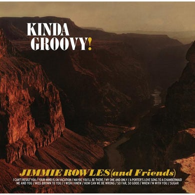 Jimmie Rowles KINDA GROOVY Vinyl Record