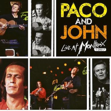 Paco De Lucia & John McLaughlin LIVE AT MONTREUX 1987 (EAR+EYE SERIES) CD