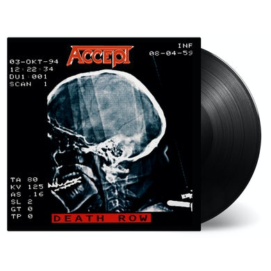 Accept DEATH ROW Vinyl Record
