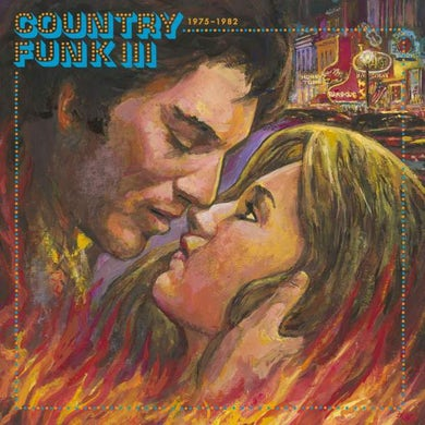Various Artists     COUNTRY FUNK VOL. 3 1975-1982 / VARIOUS (CLEAR WAX Vinyl Record