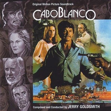 Jerry Goldsmith CABO BLANCO / Original Soundtrack CD