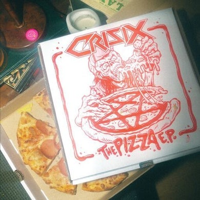 Crisix PIZZA EP (RED VINYL) Vinyl Record