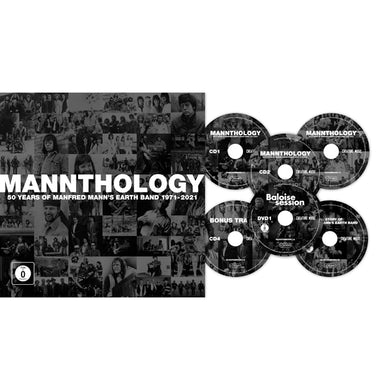 Manfred Mann's Earth Band MANNTHOLOGY (DELUXE/4CD/2DVD/BOOK) CD